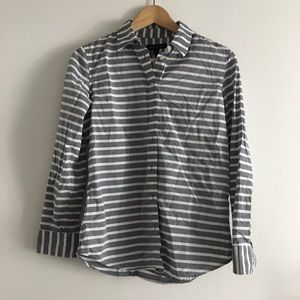 NWT banana republic striped easy Shirt Top